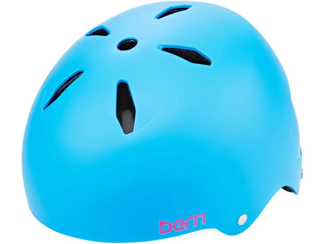 Bern Diabla EPS Helmet Thin Shell Girls, satin blue